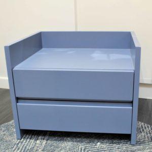 Chevet/Table d'appoint bleu