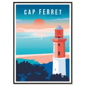 illustration Cap Ferret