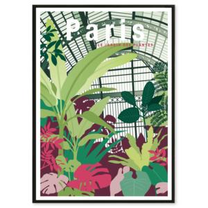 illustration Paris jardin des plantes