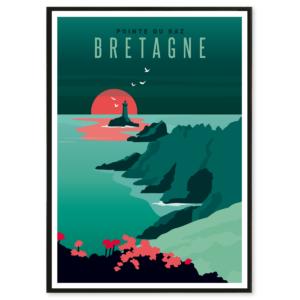 illustration Bretagne pointe du raz