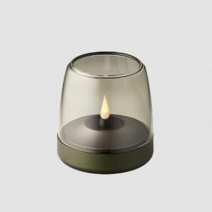Bougie glow 10 kooduu verte- authentik design