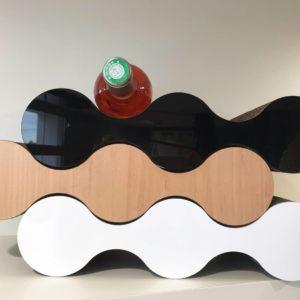 Porte bouteille carton authentik design