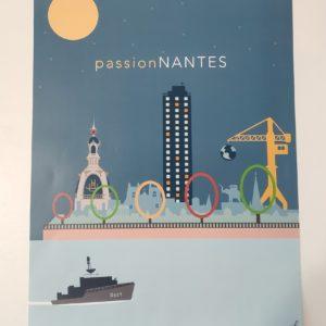 affiche passion nantes authentik design