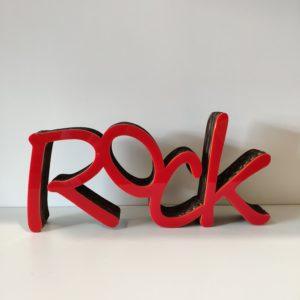 decoration rock en carton recyclé - authentik design 1