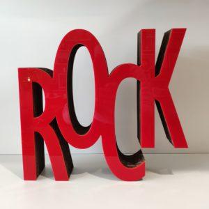decoration rock en carton recyclé - authentik design 3