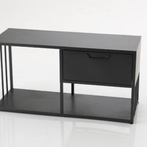 meuble métal noir - authentik design 2