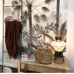 tapisserie tropicale authentik design